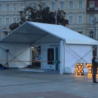 10x5m Modulinis paviljonas. Tents.lt