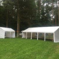 5x8m+3x4m Tents.lt