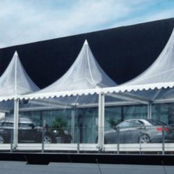 Skaidri Pagoda 5x15 Tents.lt